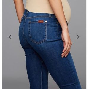 7 for all Mankind Maternity Ankle Jeans